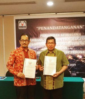 Tanda Tangan Perjanjian Kerjasama Perusda MBS - UNISAT